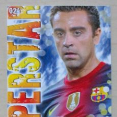 Cromos de Fútbol: 24 XAVI SUPERSTAR FC BARCELONA MUNDICROMO 2013 2014 13 14.. Lote 210676862