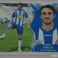 Cromos de Fútbol: CROMO DE FÚTBOL PAREJA DEL R.C.D. ESPAÑOL-ESPANYOL SIN PEGAR FICHAJE 46 LIGA ESTE 2008-2009/08-09. Lote 210704869