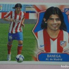 Cromos de Fútbol: CROMO DE FÚTBOL BANEGA DEL ATLETICO DE MADRID SIN PEGAR FICHAJE 49 LIGA ESTE 2008-2009/08-09. Lote 210704871