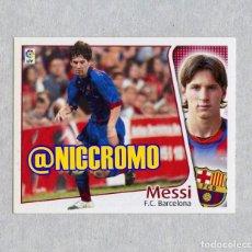 Cartes à collectionner de Football: ROOKIE CARD MESSI FC BARCELONA 2004 2005 STICKER EDICIONES ESTE PANINI LIGA VER ESTADO FOTOS 2. Lote 210531435
