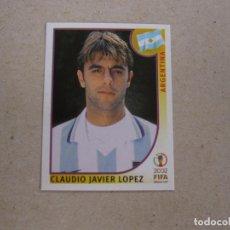 Cartes à collectionner de Football: PANINI 2002 FIFA WORLD CUP KOREA JAPAN Nº 401 CLAUDIO LOPEZ ARGENTINA MUNDIAL COREA JAPON 02 NUEVO. Lote 211399659