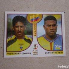 Cartes à collectionner de Football: PANINI 2002 FIFA WORLD CUP KOREA JAPAN 512 CEVALLOS DE LA CRUZ ECUADOR MUNDIAL COREA JAPON 02 NUEVO. Lote 211402932