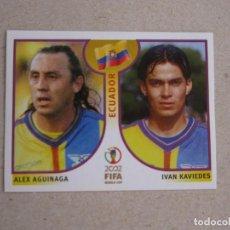 Cartes à collectionner de Football: PANINI 2002 FIFA WORLD CUP KOREA JAPAN 519 AGUINAGA / KAVIEDES ECUADOR MUNDIAL COREA JAPON 02 NUEVO. Lote 211403245