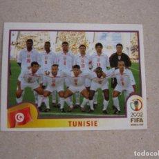 Cromos de Futebol: PANINI 2002 FIFA WORLD CUP KOREA JAPAN Nº 570 ALINEACION TUNEZ MUNDIAL COREA JAPON 02 NUEVO. Lote 211404825