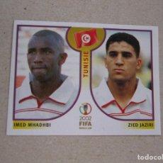 Cromos de Futebol: PANINI 2002 FIFA WORLD CUP KOREA JAPAN Nº 575 MHADHBI / JAZIRI TUNEZ MUNDIAL COREA JAPON 02 NUEVO. Lote 211404984