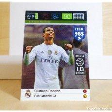 Cromos de Fútbol: ADRENALYN XL FIFA 365 2015 2016 15 16 PANINI CRISTIANO RONALDO 214 REAL MADRID MACHINE CROMO FÚTBOL. Lote 211408111