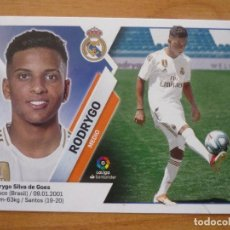 Cromos de Fútbol: ESTE 2019 2020 PANINI 11B RODRYGO (REAL MADRID) 11 B - SIN PEGAR - CROMO FUTBOL LIGA 19 20. Lote 211409695