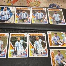 Cromos de Fútbol: LOTE 9 CROMO MESSI MUNDIAL RUSSIA RUSIA 2018 LIONEL ANDRES MESSI ARGENTINA. Lote 211437681
