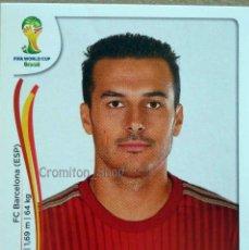 Cromos de Futebol: Nº 124 PEDRO RODRIGUEZ - ESPAÑA - MUNDIAL DE FUTBOL BRASIL 2014 WC FIFA WORLD CUP PANINI. Lote 211459804
