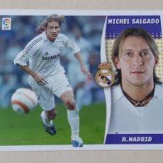 Cromos de Futebol: EDICIONES ESTE 06 07 MICHEL SALGADO CROMO SIN PEGAR - REAL MADRID. Lote 211478949