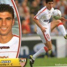 Cromos de Fútbol: REYES (SEVILLA F.C.) - CAMPEONATO DE LIGA 03/04 - EDICIONES ESTE - NUNCA PEGADO.. Lote 211485516