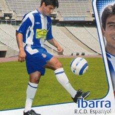 Cromos de Fútbol: IBARRA (R.C.D. ESPANYOL) - ÚLTIMOS FICHAJES Nº 27 - LIGA 04-05 - EDICIONES ESTE - NUNCA PEGADO.. Lote 211563625