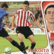 Cromos de Fútbol: AZKORRA (ATHLETIC CLUB) - ÚLTIMOS FICHAJES Nº 30 - LIGA 04-05 - EDICIONES ESTE - NUNCA PEGADO.. Lote 211564340
