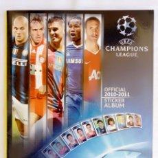 """Cromos de Fútbol: ALBUM PANINI. """"UEFA CHAMPIONS LEAGUE 2010/2011"""" -. Lote 211602157"""