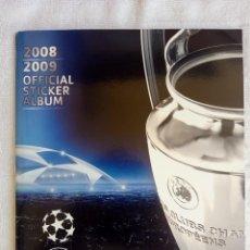 """Cromos de Fútbol: ALBUM PANINI. """"UEFA CHAMPIONS LEAGUE 2008/2009"""" -. Lote 211604275"""