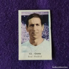 Cromos de Fútbol: CROMO DE FUTBOL. Nº13 GENTO. REAL MADRID. ED.RUIZ ROMERO. CAMPEONATO NACIONAL 1961-1962.. Lote 269690728