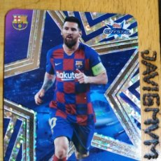 Cromos de Fútbol: CHAMPIONS 2019 2020 TOPPS CRYSTAL CARDS LIMITED MESSI BARCELONA. Lote 211637668