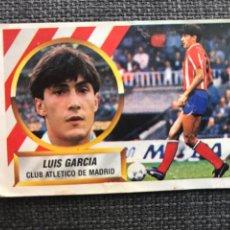 Cromos de Fútbol: CROMO FÚTBOL 4-A ESTE - LUIS GARCÍA ATLÉTICO - LIGA 88/89 - PANINI FHER RUIZ ROMERO ALBUM. Lote 211649158