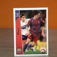 Cromos de Fútbol: CROMO LAS FICHAS DE LA LIGA MESSI. Lote 211652916