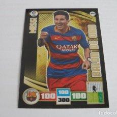 Cromos de Fútbol: 455 MESSI / BARCELONA / BALON DE ORO / ADRENALYN LIGA 2015 2016 15 16 PANINI. Lote 211653194