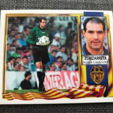 Cromos de Fútbol: CROMO FÚTBOL ESTE LIGA 95/96 - ZUBIZARRETA VALENCIA - ALBUM PANINI FHER RUIZ ROMERO ESPAÑA. Lote 211653219