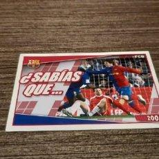Cromos de Fútbol: CROMO MESSI 2009. Lote 211655985
