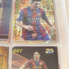 Cromos de Fútbol: MESSI FICHAS DE LA LIGA 2008 TOP6 N 661 MUNDICROMO F C BARCELONA TOP ONCE. Lote 211657361