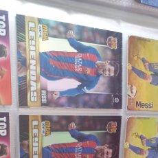 Cromos de Fútbol: LOTE 3 CROMO MESSI MGK 2017 18 MESSI LEYENDAS N 105. Lote 211658415