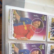 Cromos de Fútbol: LOTE 3 CROMO MESSI TOP ONCE 5 MUNDICROMO 2009 MESSI F C BARCELONA N 660. Lote 211658651