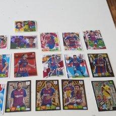 Cromos de Fútbol: LOTE 16 CROMO MESSI (LIGA ESTE MGK ADRENALYN ( VER DISCRECIÓN). Lote 211661163