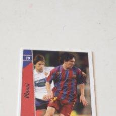 Cromos de Fútbol: MESSI LAS FICHAS DE LA LIGA 2007 MUNDICROMO N° 19 MESSI. Lote 211661594