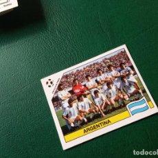 Cromos de Fútbol: ALINEACION ARGENTINA USA ITALIA 90 CROMO FUTBOL MUNDIAL ITALIA 90 SIN PEGAR RF0 N 117. Lote 211671765