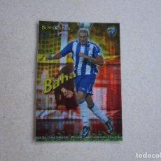 Cromos de Fútbol: MUNDICROMO FICHAS QUIZ GAME 2010 SUPERSTAR BRILLO SECURITY Nº 216 BAHA MALAGA 09 10 2009. Lote 211730974