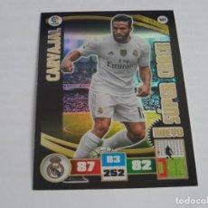 Cromos de Fútbol: 521 CARVAJAL / REAL MADRID / NUEVO SUPER CRACK / ADRENALYN LIGA 2015 2016 15 16 PANINI. Lote 211731153
