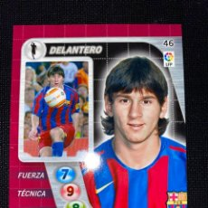 Cromos de Fútbol: LEO MESSI - ROOKIE 2004-2005 - DERBY TOTAL - CROMO PANINI. Lote 211731341