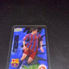 Cromos de Fútbol: MESSI - CRYSTALCARD 2006/2007 - MUNDICROMO - FC BARCELONA #MESSIMANIA. Lote 211731536