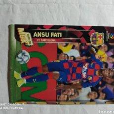Cromos de Fútbol: ANSU FATI MGK MEGACRACK 19 20 N° 71 BIS F C BARCELONA ANSU FATI. Lote 211733851