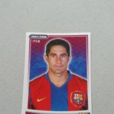 Cromos de Fútbol: DIFÍCIL Nº 67 SYLVINHO - CROMO STICKER BARCELONA 2007-2008 BARÇA LIGA FÚTBOL 07-08 PANINI. Lote 211733885