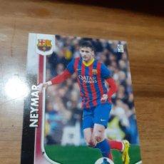 Cromos de Futebol: TRADING CARD MEGACRACKS TEMPORADA 2014/15, EDITORIAL PANINI, JUGADOR NEYMAR (F.C. BARCELONA). Lote 211839126