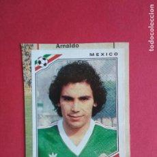 Figurine di Calcio: PANINI MUNDIAL MEXICO 86 COPA DEL MUNDO 1986 CROMO RECORTADO Nº 124 HUGO SANCHEZ. Lote 211888288