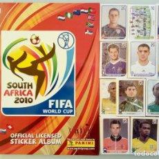 "Cromos de Fútbol: ALBUM PANINI. ""FIFA WORLD CUP SOUTH AFRICA 2010"".. Lote 212206147"