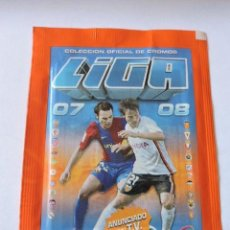 Cromos de Fútbol: 3 SOBRES SIN ABRIR LIGA ESTE 2007-2008 - PANINI - LA LIGA - MESSI ?. Lote 220848822
