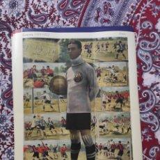 Cromos de Fútbol: POSTER CROMOS ZAMORA 1918-1922. Lote 212277550