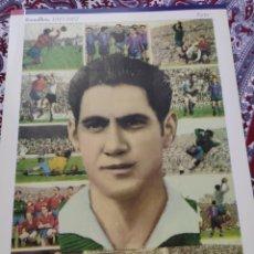 Cromos de Fútbol: POSTER CROMOS RAMALLETS 1947-1962. Lote 212280943
