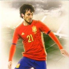 Cromos de Fútbol: 56 DAVID SILVA - MANCHESTER CITY - ESPAÑA - FUTERA UNIQUE 2016. Lote 212502377