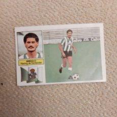 Figurine di Calcio: EDICIONES ESTE 82 83 ANGULO RACING SANTANDER VERSIÓN RAYAS VERDES BLANCAS. Lote 212567230