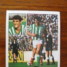 Cromos de Fútbol: RINCON ( REAL BETIS ) - ESTE 81/82 1981/82 ULTIMOS FICHAJES NÚMERO 6 - SIN PEGAR NUEVO. Lote 212837851