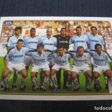 Cromos de Fútbol: ALINEACIÓN DEL R.C. CELTA - Nº 676 - LAS FICHAS DE LA LIGA 2005 - MUNDICROMO.. Lote 212851756