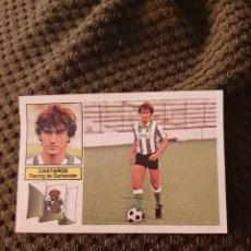 Figurine di Calcio: EDICIONES ESTE 82 83 RACING SANTANDER VERSIÓN RAYAS CASTAÑOS. Lote 212854510