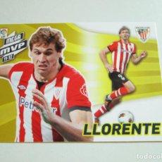 Cromos de Fútbol: #422 LLORENTE ATHLETIC CLUB BILBAO MEGACRACKS 12 13 MEGA MVP 11-12 MGK LIGA 2012 2013. Lote 231800890